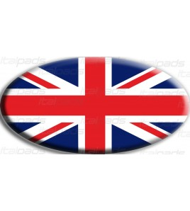 Union Jack Royal British Drapeau Autocollant Range Rover OVAL
