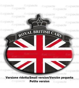 Union Jack Royal British drapeau autocollant Range Rover noir 76x68