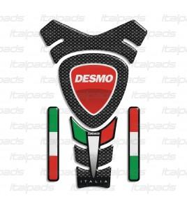"""Protège-réservoir """"ITALIA Racing""""  pour  Ducati  mod. """"Texas"""" + 4"""