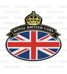 Badge sticker Union Jack Royal British flag drapeau anglais Range Rover