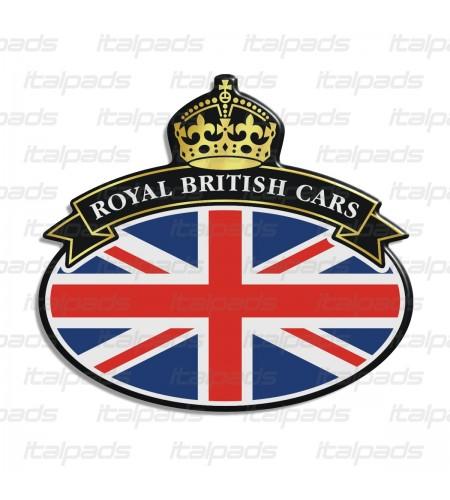 Badge sticker Union Jack Royal British flag drapeau anglais Range Rover