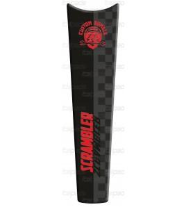 Protège Réservoir tons rouges adapté pour Ducati Scrambler