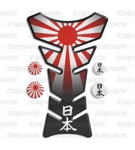 Protège Réservoir Japon Drapeau Tank Pad protector + 4