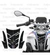 Protège Réservoir Tank Pad noir pour BMW R1250R