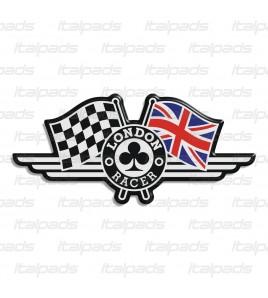 """Union Jack drapeau autocollant """"London Racer"""" Triumph"""