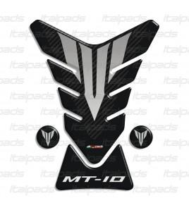 Protection Protège Réservoir Tank Pad pour Yamaha MT-10 noir/carbon look +2 Gratuit!!