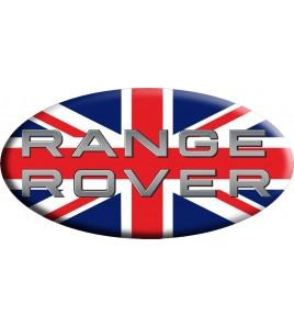 Union Jack Royal British drapeau autocollant Range Rover OVAL
