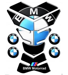 """Protège Réservoir Tank Pad noir pour BMW mod. """"new york"""" +4 gratuit"""