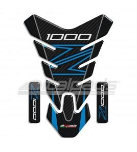 """Protège Réservoir pour Kawasaki Z1000 bleu/azur mod. """"Nevada""""+2"""