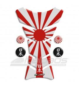 Protège Réservoir Japon Drapeau HoneyComb + 4