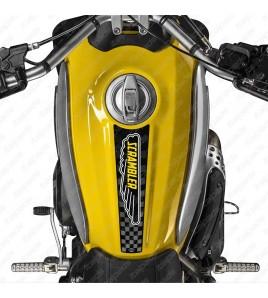 Protège Réservoir Vintage adapté pour Ducati Scrambler